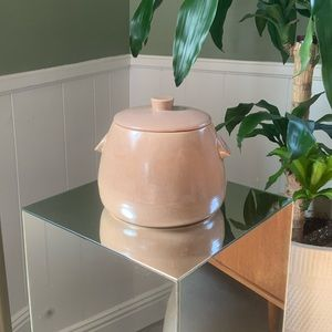 Vintage midcentury ceramic cookie jar
